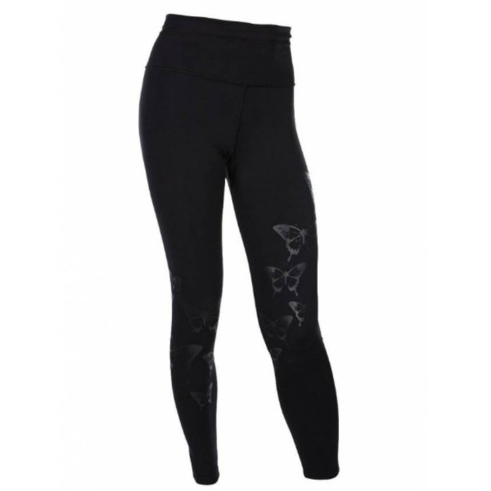 Yogaleggings Butterfly Black - Run & Relax
