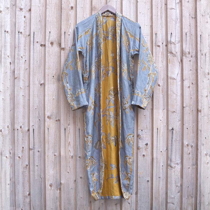 """Exklusiv kimono """"Iris Florentina"""" - Brahmaki"""