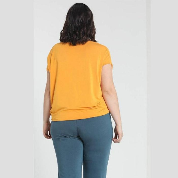Yogatopp Wide top från Curare Yogawear- Aprikos från XXL