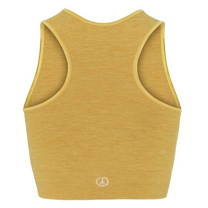 Seamless Crop Top Dandelion - Moonchild Yogawear