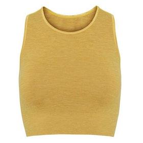 "Yogatop Seamless Crop Top ""Dandelion"" - Moonchild Yogawear"
