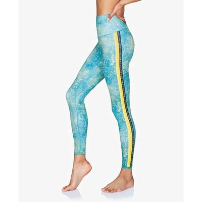 Yogaleggings Peace Warrior II - Moonchild Yogawear