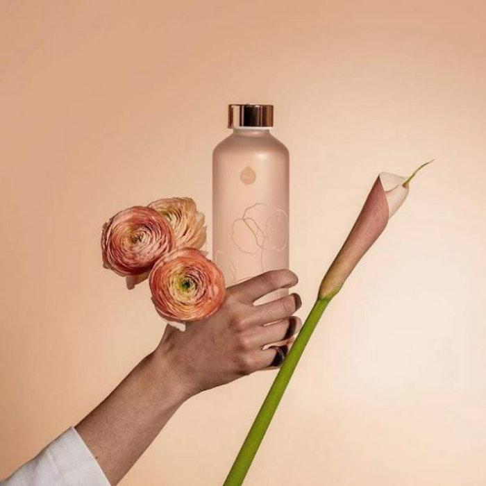 Vattenflaska Mismatch Bloom i glas