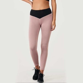 Yogaleggings BOW II Clay/Black - DOM