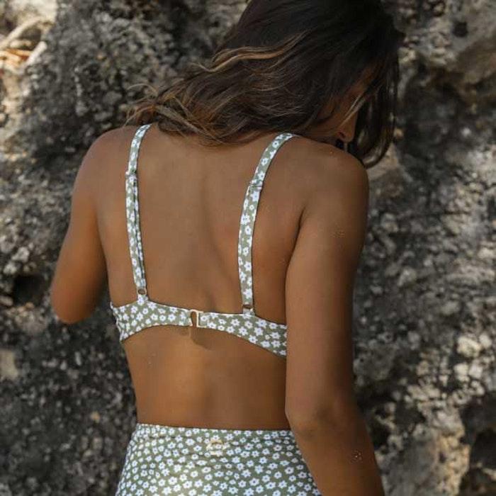 Bikinitopp  Noella Daisy Olive - Indigo Luna