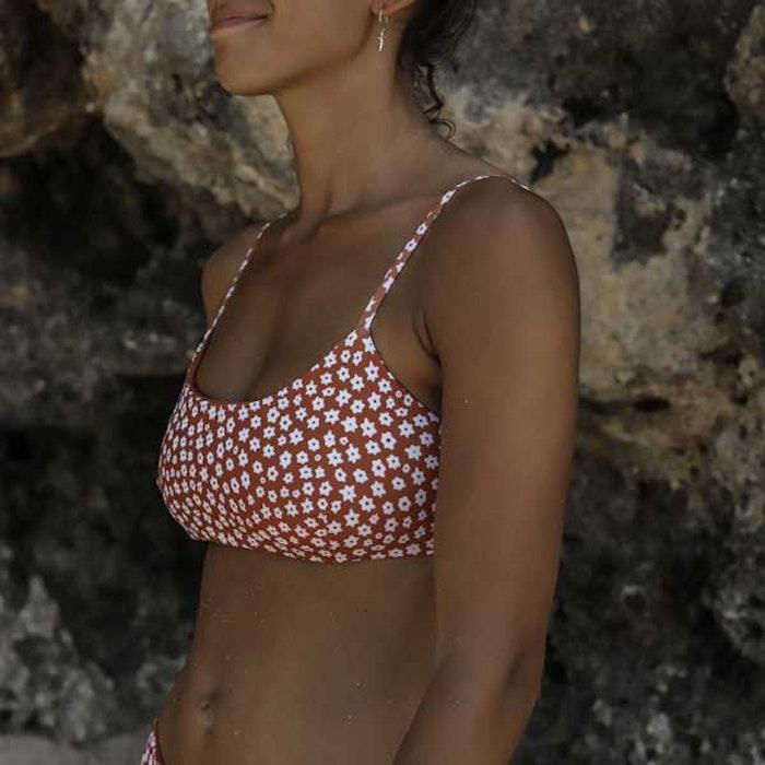 Bikinitopp Ophelia Daisy Clay - Indigo Luna