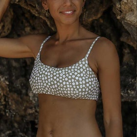Bikinitopp Ophelia Daisy Olive - Indigo Luna