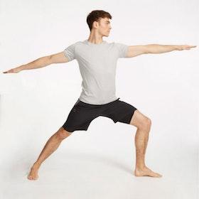 Yogashorts Eco Warrior II Bluesign Black - Ohmme