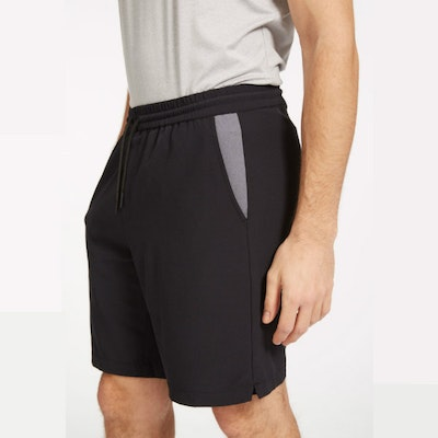 Yogashorts Eco Warrior II Bluesign Black - Ohmme