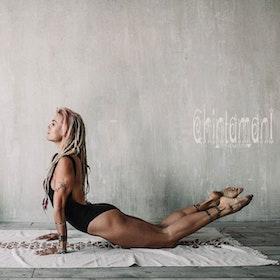 Yoga Bodysuit Atua Tino Black - Chintamani Alchemi