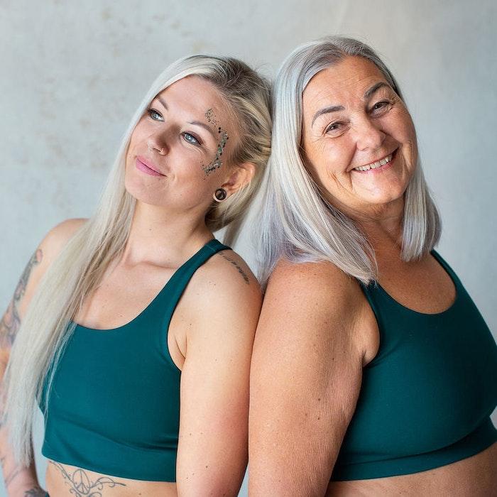 Yoga top Paloma Classic Globe - Girlfriend Collective