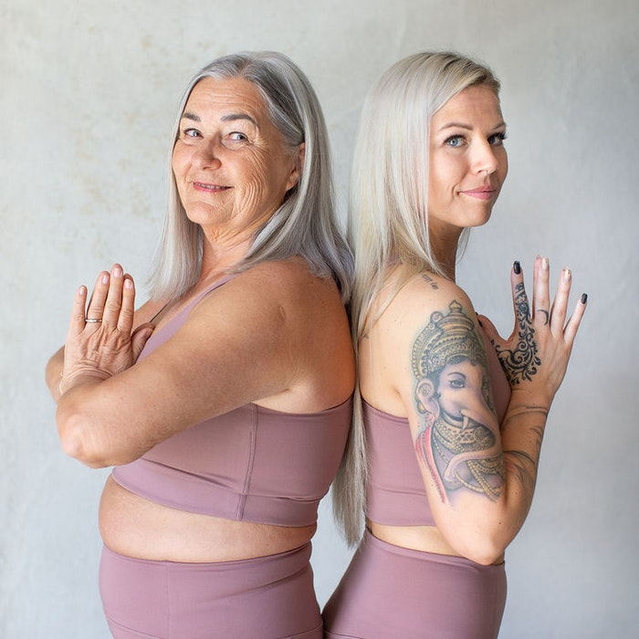 Sport-BH Yoga Paloma Classic Rose Quartz - Girlfriend Collective