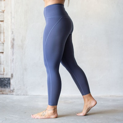 Yoga leggings High rise 7/8 Tanzanite  - Girlfriend Collective