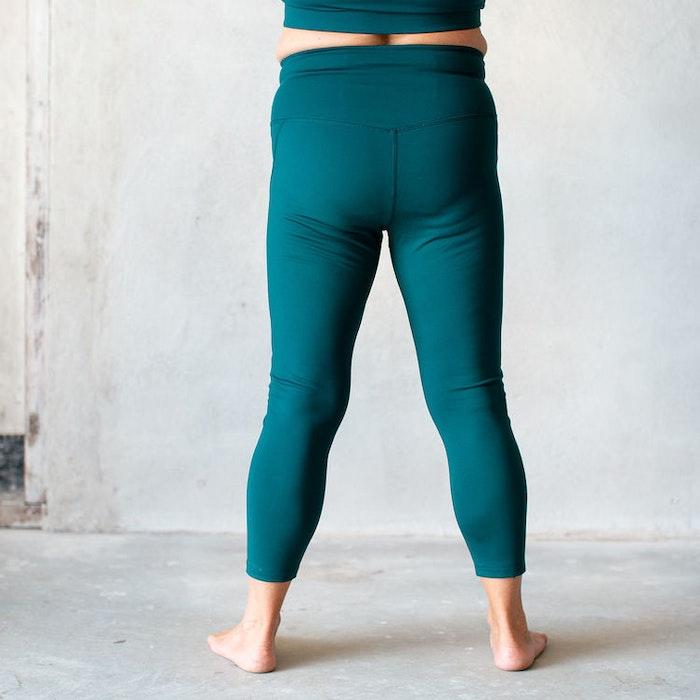 Yoga leggings High rise 7/8 Globe  - Girlfriend Collective