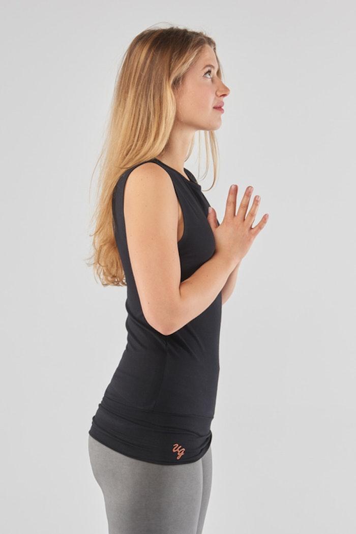 Yogatopp/linne Bhav Urban black - Urban Goddess