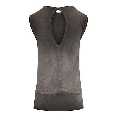 Yogatopp/linne Bhav Off black - Urban Goddess