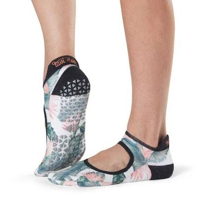 Yogastrumpor Tavi Noir Emma Grip Socks -  Paradise