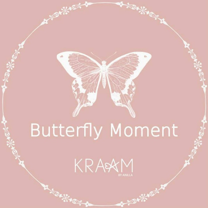 Massage/doftljus Butterfly - Kraam by Anilla