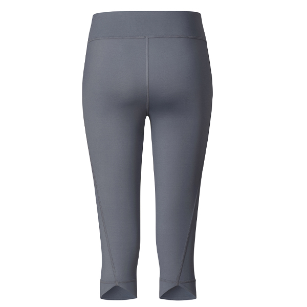 Yogaleggings 3/4 by Brigitte Anthracite grey - Curare