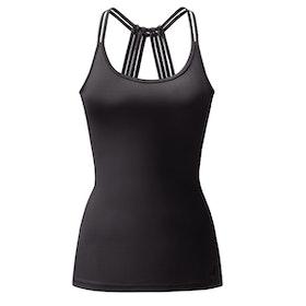 Yogatopp/linne Brigitte Black - Curare Yogawear