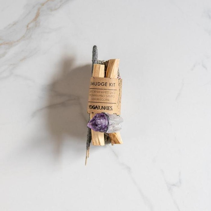 Smudge kit med Ametist och Mayan Copal - Yoga Junkies