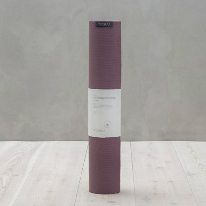 Yogamatta Allround Premium 5 mm Mauve Purple -  YogiRAJ