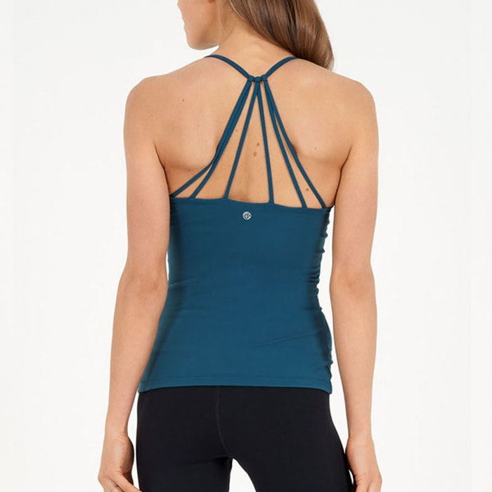 Yoga linne Radiant Tank Emerald - Dharma Bums