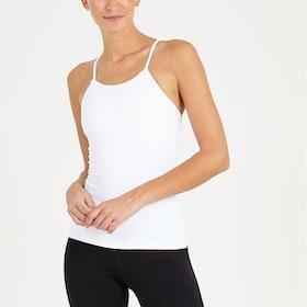 Yoga linne Radiant Tank White - Dharma Bums