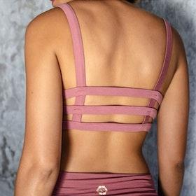 Sport-BH Yoga Boxy crop top Melrose - Indigo Luna