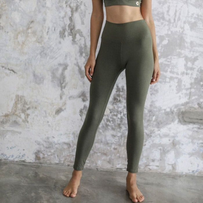 Yogabyxor Ananda leggings Kale - Indigo Luna