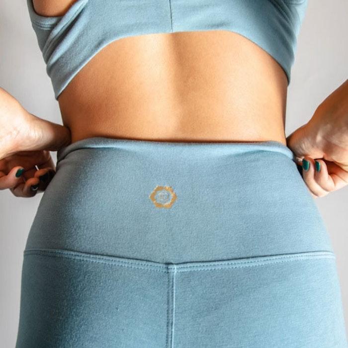 Yogabyxor Ananda leggings Sky Blue - Indigo Luna