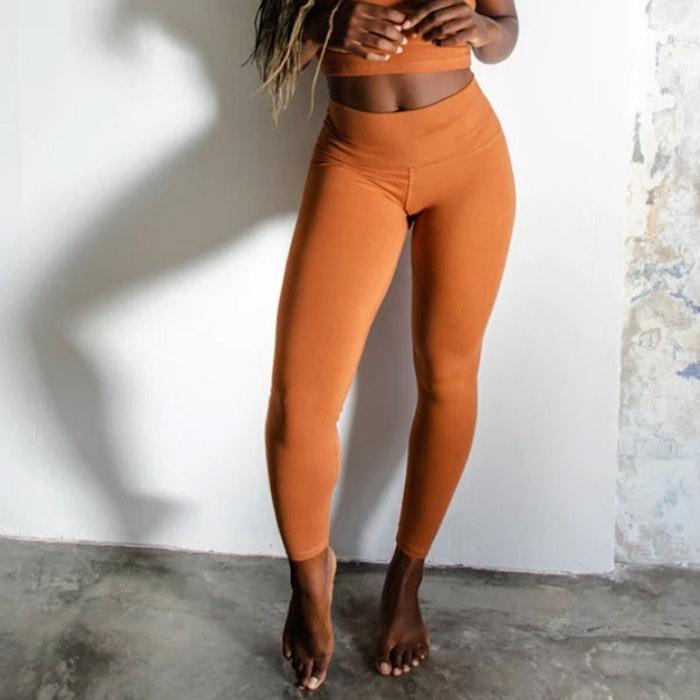 Yogabyxor Ananda leggings Clay - Indigo Luna