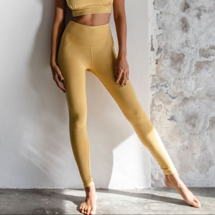 Yogabyxor Ananda leggings Dandelion - Indigo Luna
