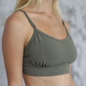 Sport-BH Yoga Ananda crop Kale - Indigo Luna