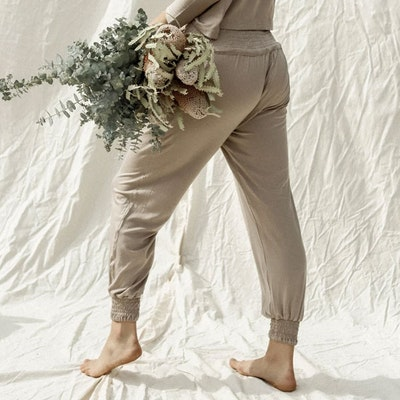 Yogabyxor Eucaluptus Daya pants Oak - Indigo Luna