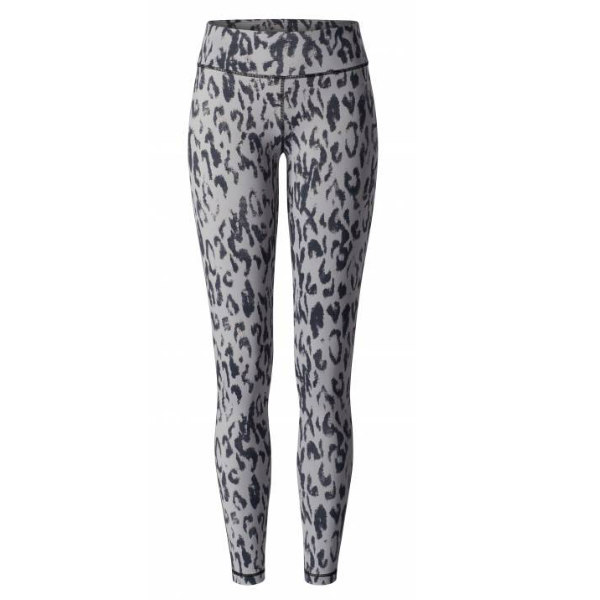 Yogaleggings Grey Leopard - Curare Yogawear