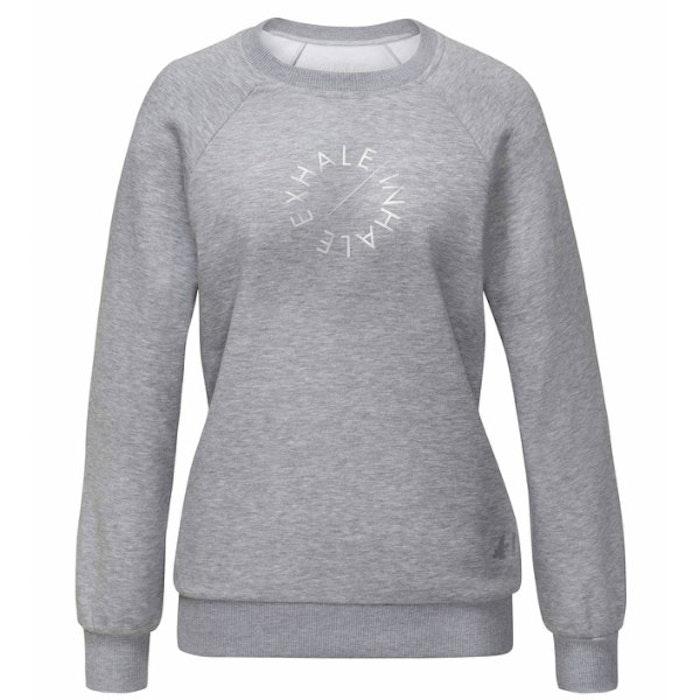 Tröja Inhale /Exhale Grå - Curare Yogawear