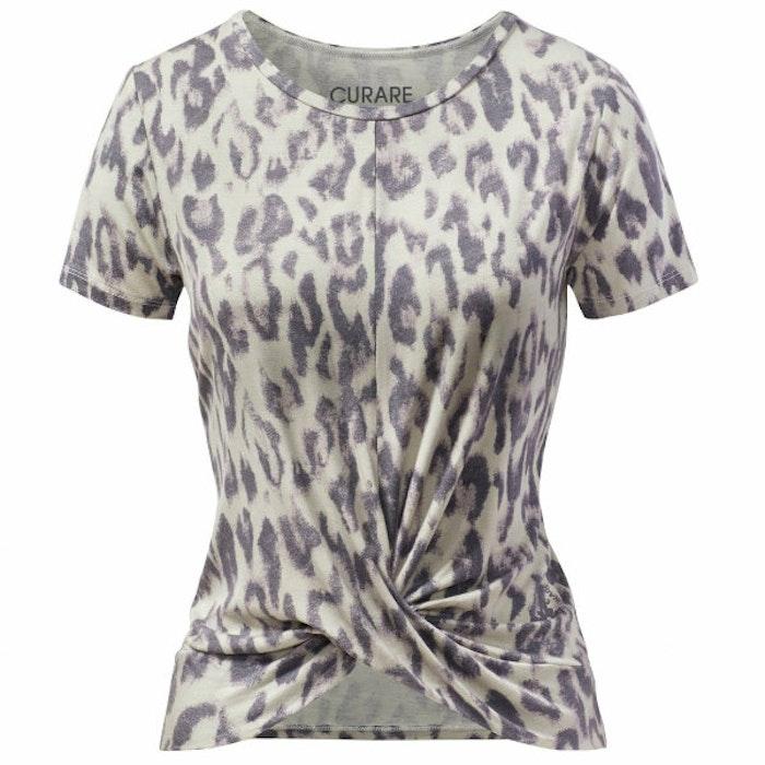 Yogatopp Twisted Sand Leopard - Curare Yogawear