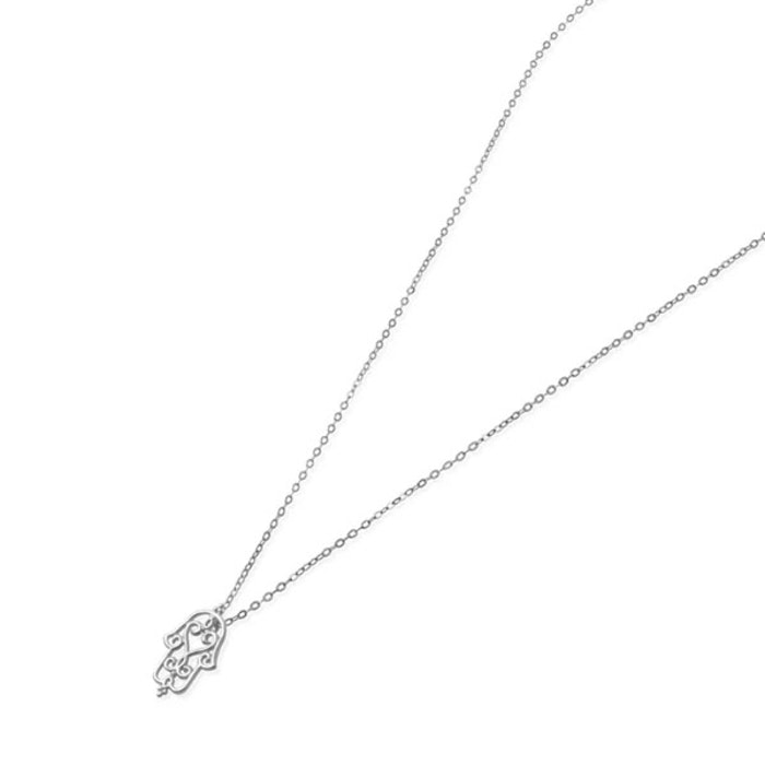 """Halsband """"You are held"""" silver från Ananda Soul"""