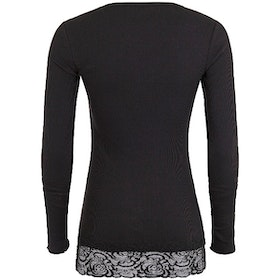 Yogatröja Long Shirt Black - Mandala