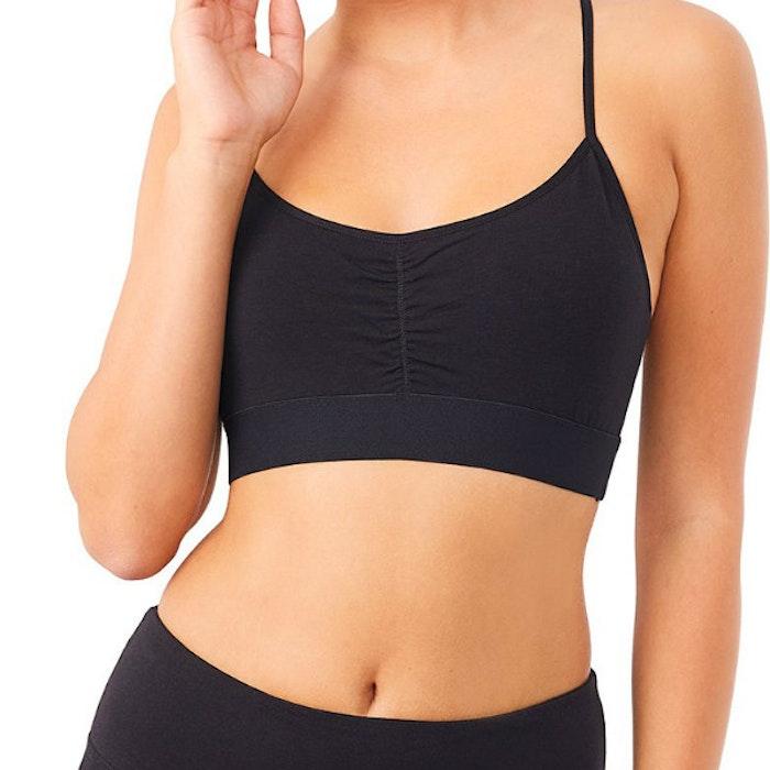 Sport-BH Yoga Slim Black - Mandala