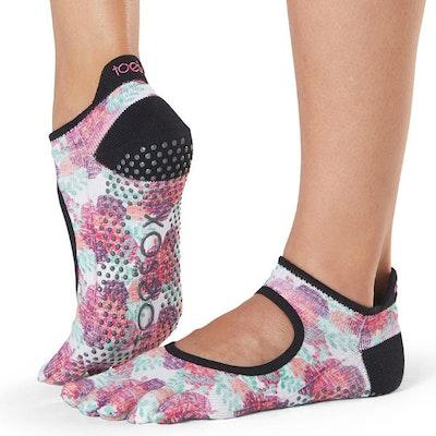 Yogastrumpor Posy Fulltoe Bellarina Grip - Toesox