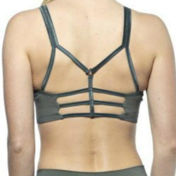 Sport-BH Yoga Leyla Camo Green - Run & Relax