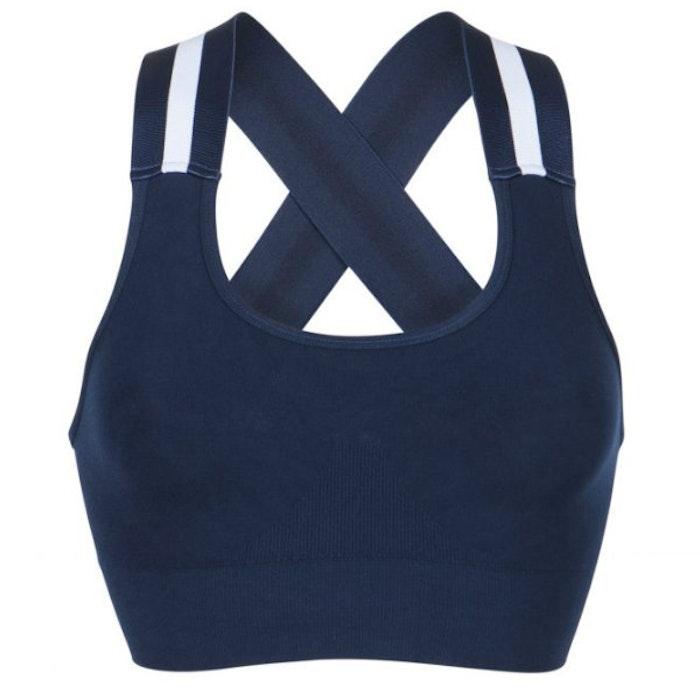 Sport-BH Yoga Wide Elastic Midnight Blue - Run & Relax