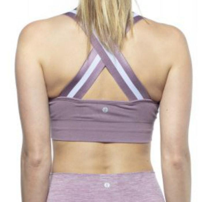 Sport-BH Yoga Wide Elastic Warm Lilac - Run & Relax