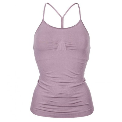 Yogalinne Karna Cami Warm Lilac - Run & Relax