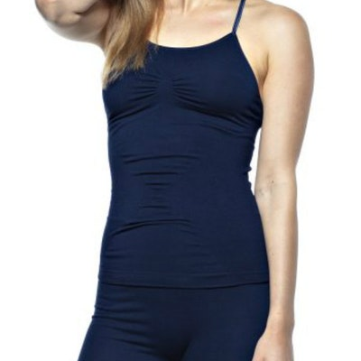 Yogalinne Karna Cami Midnight Blue - Run & Relax