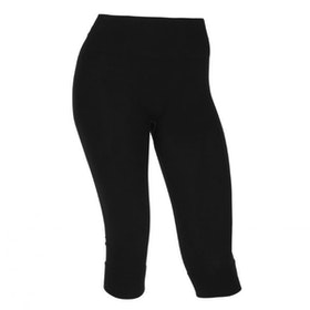 Yogaleggings Capri Bamboo Black - Run & Relax