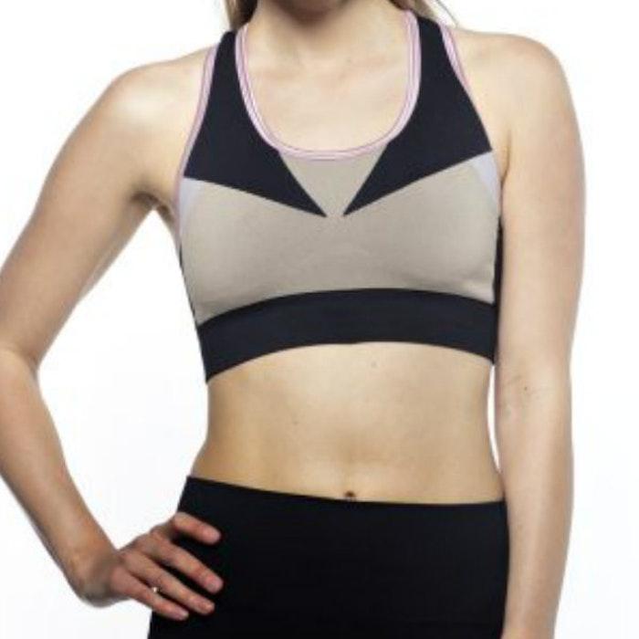 Sport-BH Yoga Multicolor Black, Rose, Sand - Run & Relax