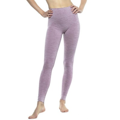 Yogaleggings Bandha Warm Lilac & White - Run & Relax